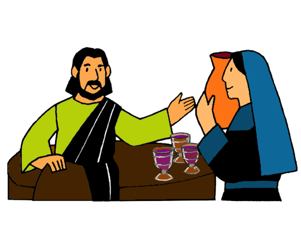 Wedding At Cana Clipart