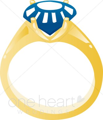 333x388 Clipart Sapphire Ring Wedding Ring Clipart