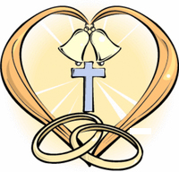 200x192 Cross With Wedding Rings Clipart Amp Cross With Wedding Rings Clip