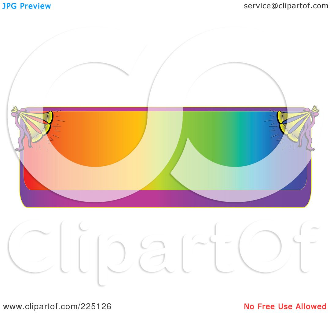 1080x1024 Royalty Free (Rf) Clipart Illustration Of A Gradient Colorful Text