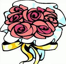 227x221 Free Wedding Bouquet Clipart