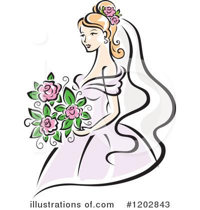 400x420 Bride Clipart