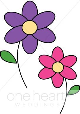 271x388 Cartoon Flowers Clipart Wedding Flower Clipart