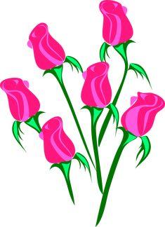 235x324 Clip Art Pink Rose Pink Rose Png Floral Clip Art