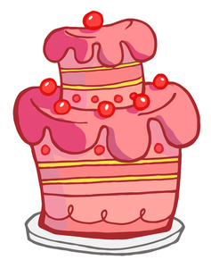 237x300 28+ Collection of Red Cake Clipart High quality, free cliparts