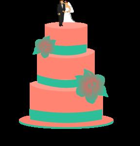 288x299 Wedding Cake Clip Art