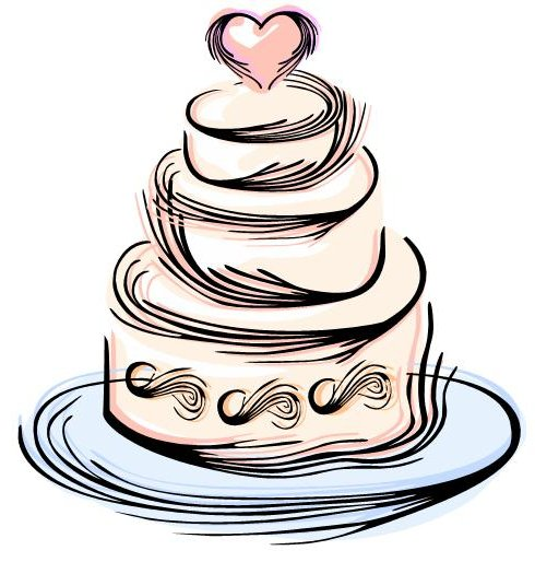 wedding cake clipart at getdrawings com free for personal use rh getdrawings com wedding cake topper clipart wedding cake clipart images