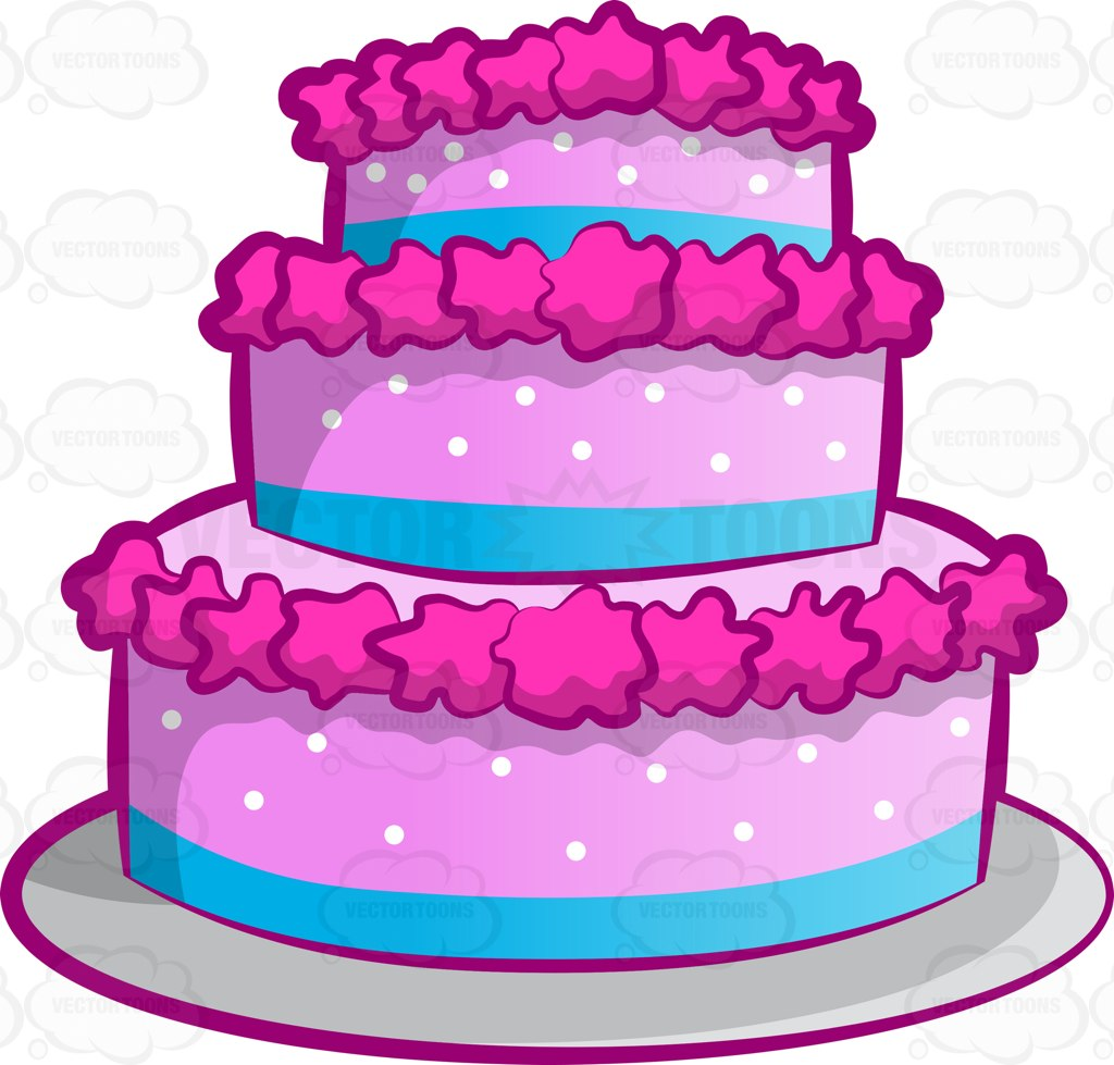 1024x979 wedding cake Clipart Vector Toons