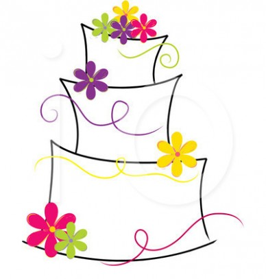 388x407 Best Wedding Cake Clip Art Food and drink