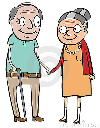 350x450 Gallery Old Married Couple Clip Art,