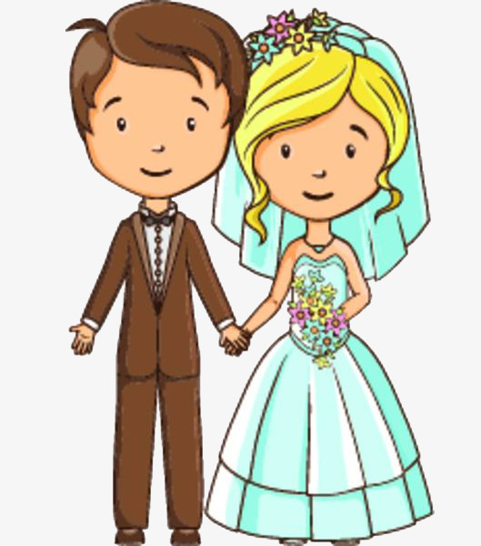 529x600 Married Couple, Hand In Hand, A Wife, Marry, Happy Wedding Png