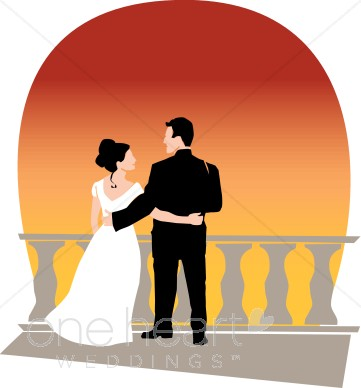 361x388 Sunset Clip Art Couples Clipart