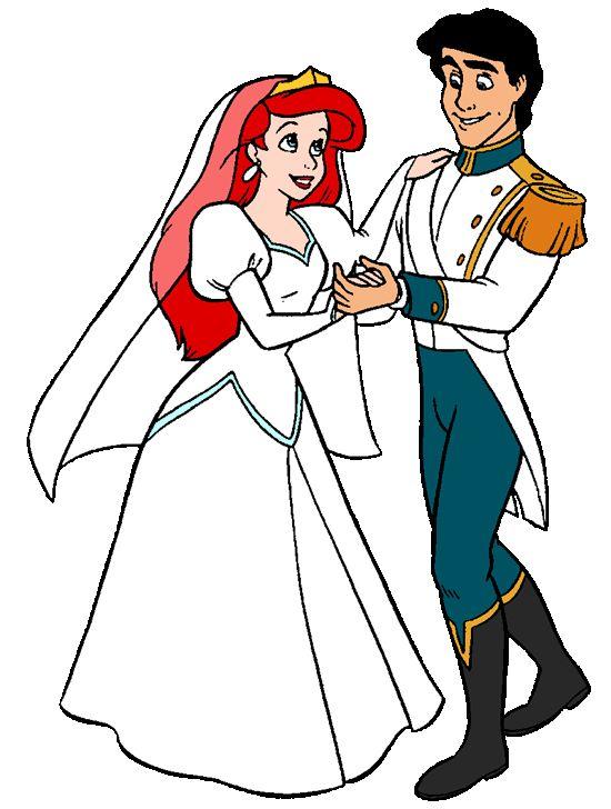 550x728 Wedding Clipart Ariel