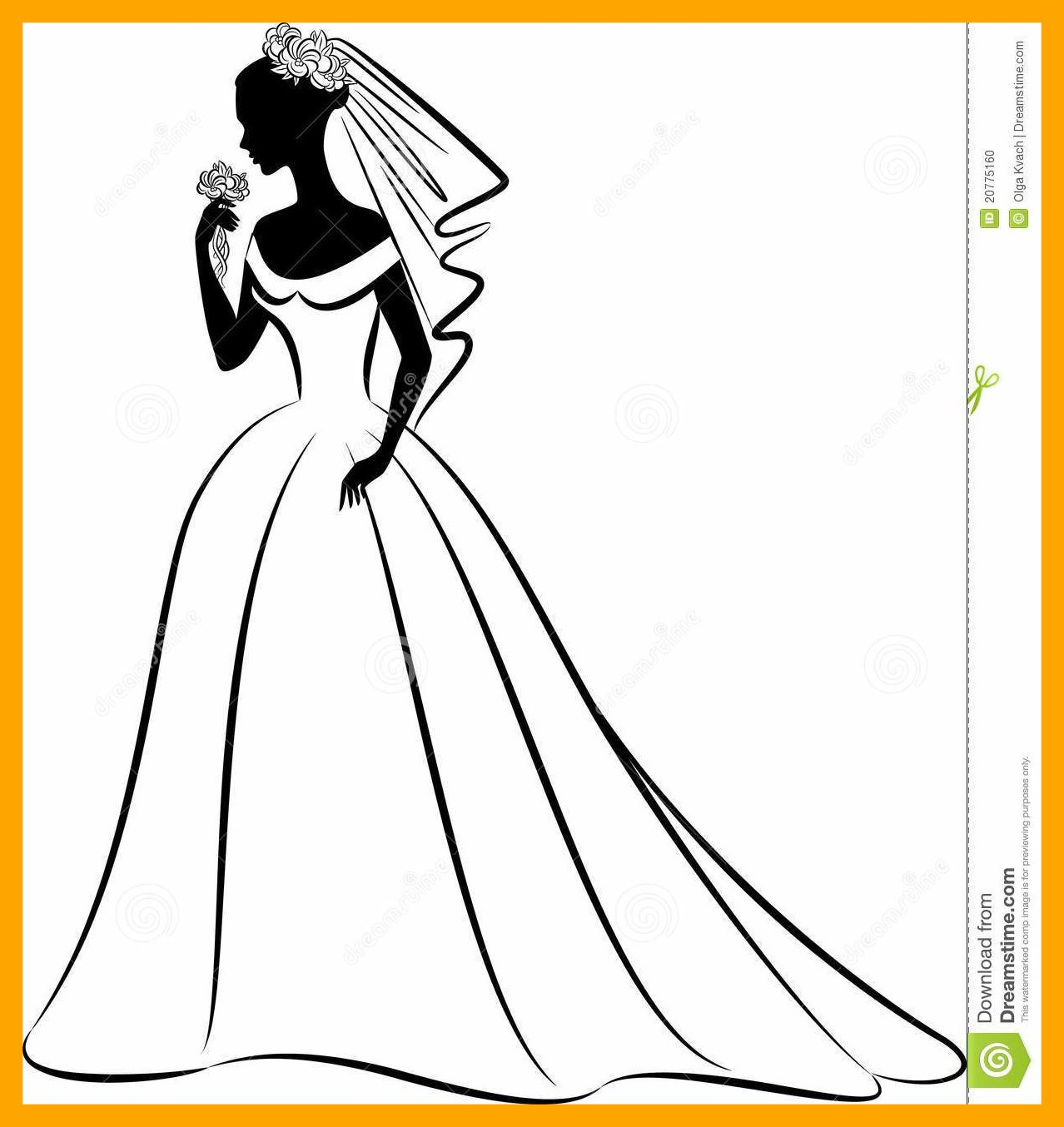 1278x1354 Unbelievable Clip Art Vintage Wedding Dress Clipart Image