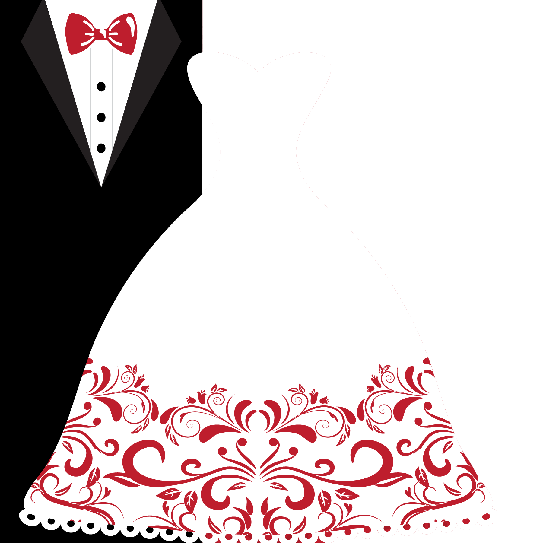 1800x1800 Wedding Invitation Bridegroom Wedding Dress Clip Art
