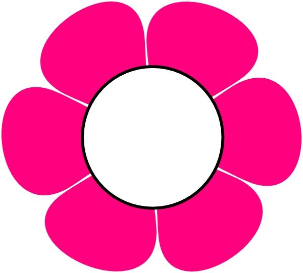 600x541 Flower Clipart Hd