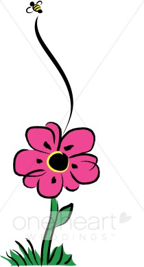 210x388 Bees Clipart Pink
