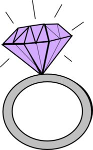 186x299 Wedding Ring Clipart Free Wedding Clipart Rings Misc