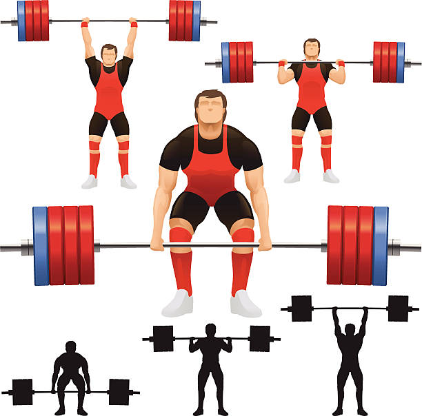 612x604 Collection Of Olympic Weightlifting Clipart High Quality