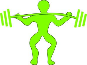 297x222 Weightlifting Clip Art