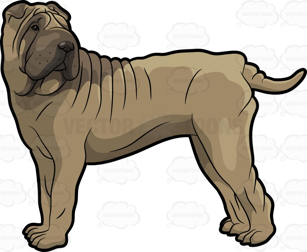 1024x841 Dog Breed Clipart Vector Toons