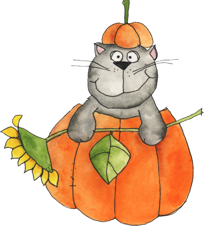 668x740 Welcome Autumn Autumn, Cat Clipart And Clip Art