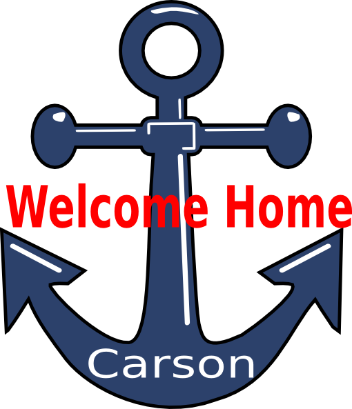 510x593 Welcome Home Anchor Clip Art