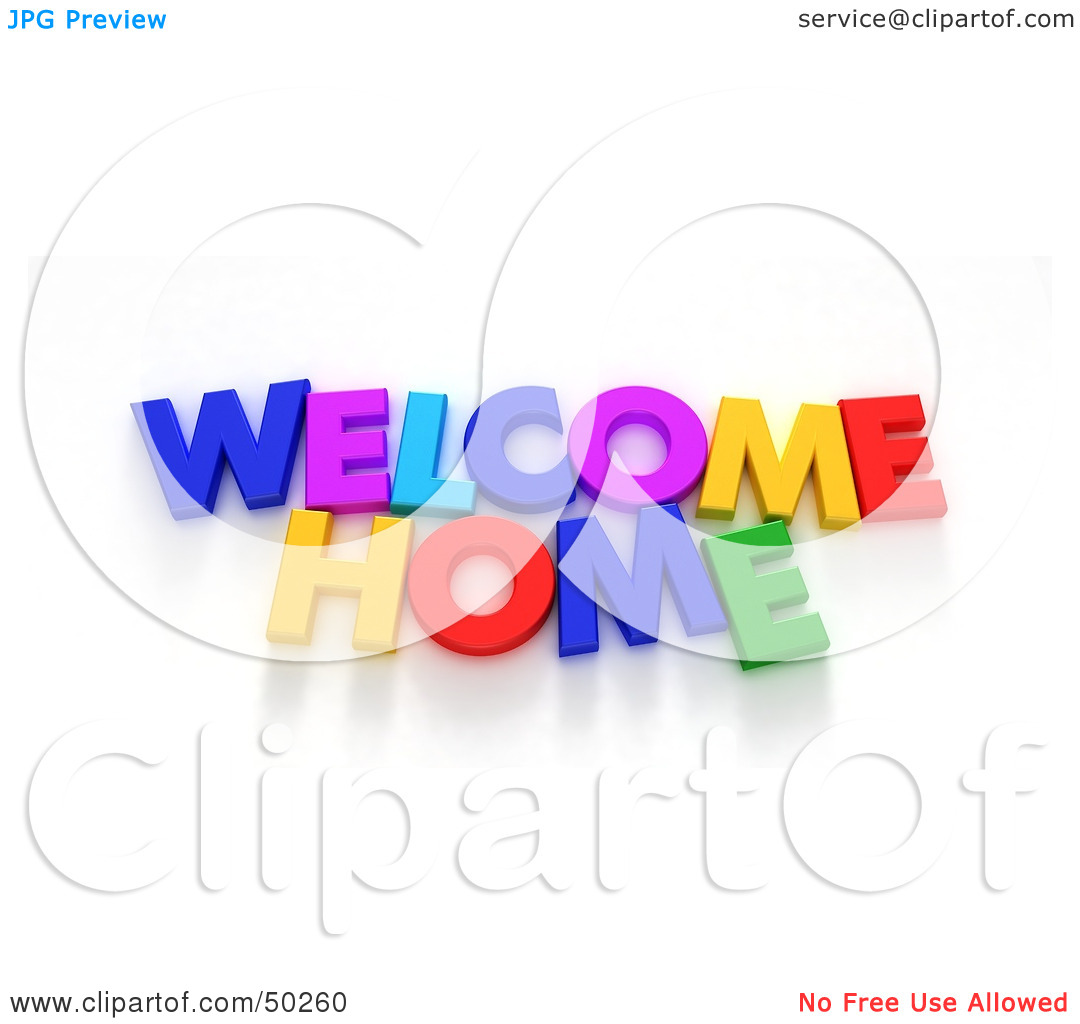 1080x1024 Welcome Home Clipart