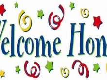 220x165 Welcome Home Clip Art Images Colorful Welcome Home Banner