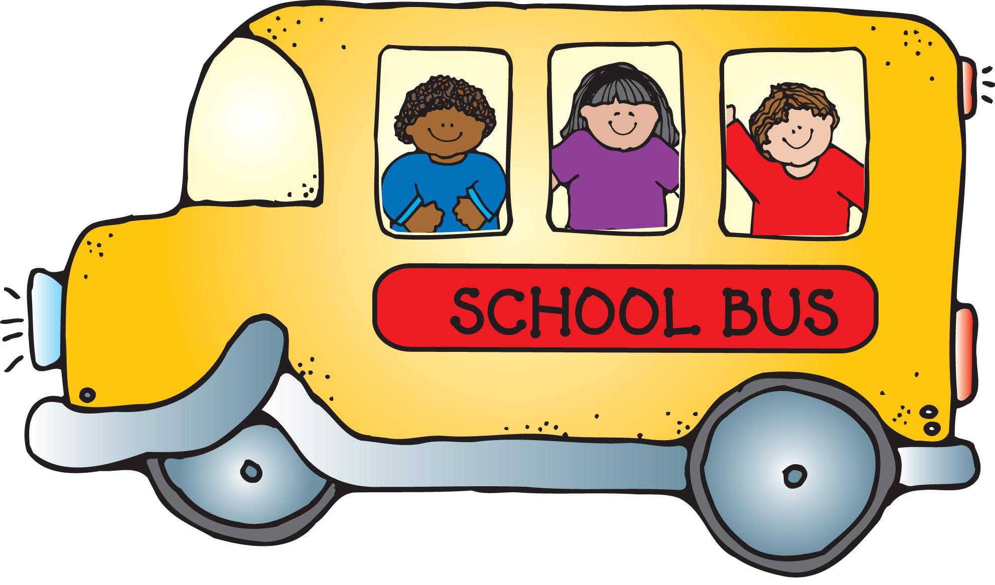 1983x1167 67 Free School Bus Clip Art