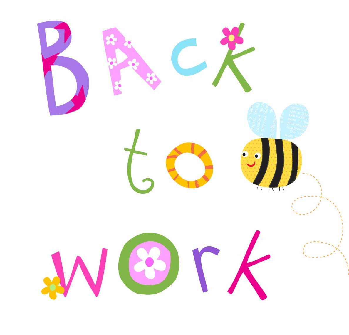 1188x1141 Back To Work After Vacation Clipart Collection