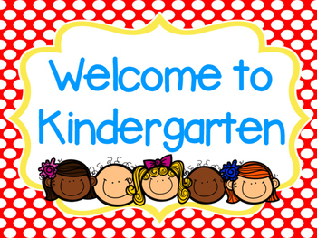 350x263 Welcome To Kindergarten (Smartboard Sign) By Meaghan Kimbrell Tpt