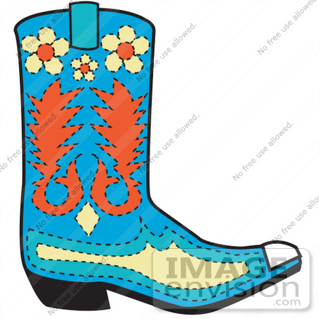 450x450 Procgamusti Cowboy Boots Cartoon