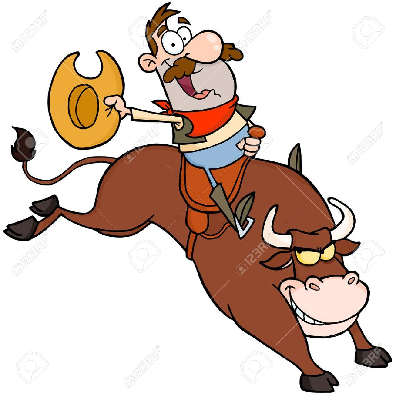 1300x1297 Cowboy Clipart Bull Riding Free Collection Download And Share