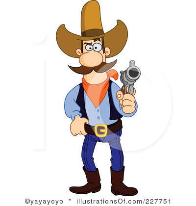 400x420 Cowboy Clipart ~ Frames ~ Illustrations ~ Hd Images ~ Photo