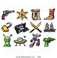 221x228 Clip Art Sheriff Star Western