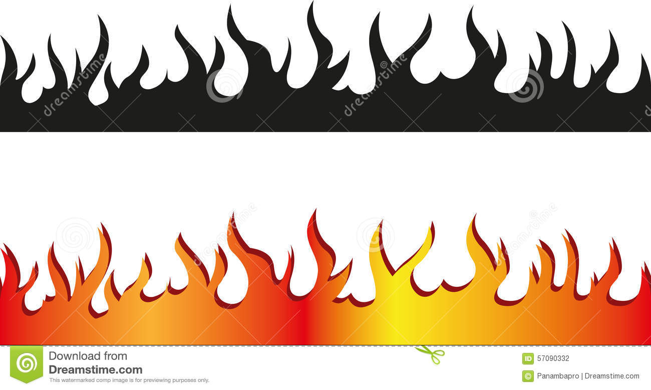 1300x779 Flame Clipart Border Free Collection Download And Share Flame