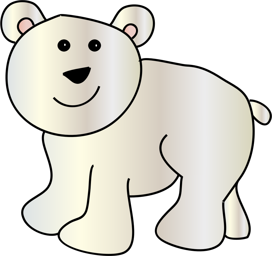 954x895 Collection Of Polar Bear Clipart Png High Quality, Free
