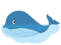 210x153 Free Whale Clipart