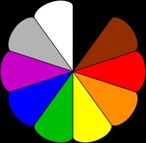 298x291 Color Wheel Clip Art