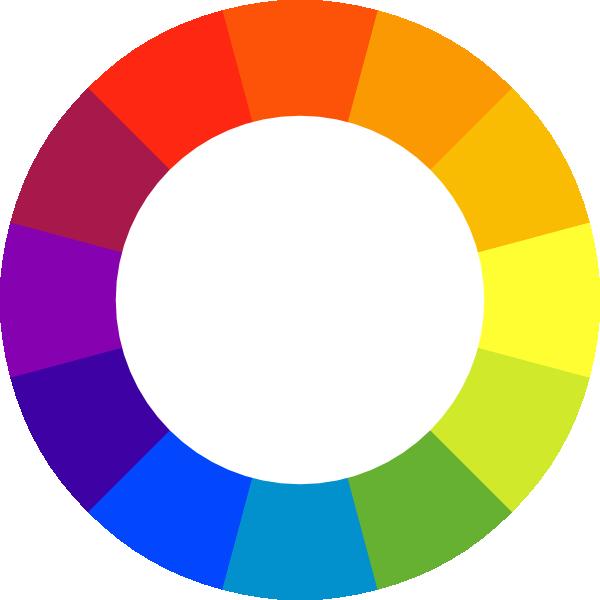 600x600 Color Clipart Color Wheel