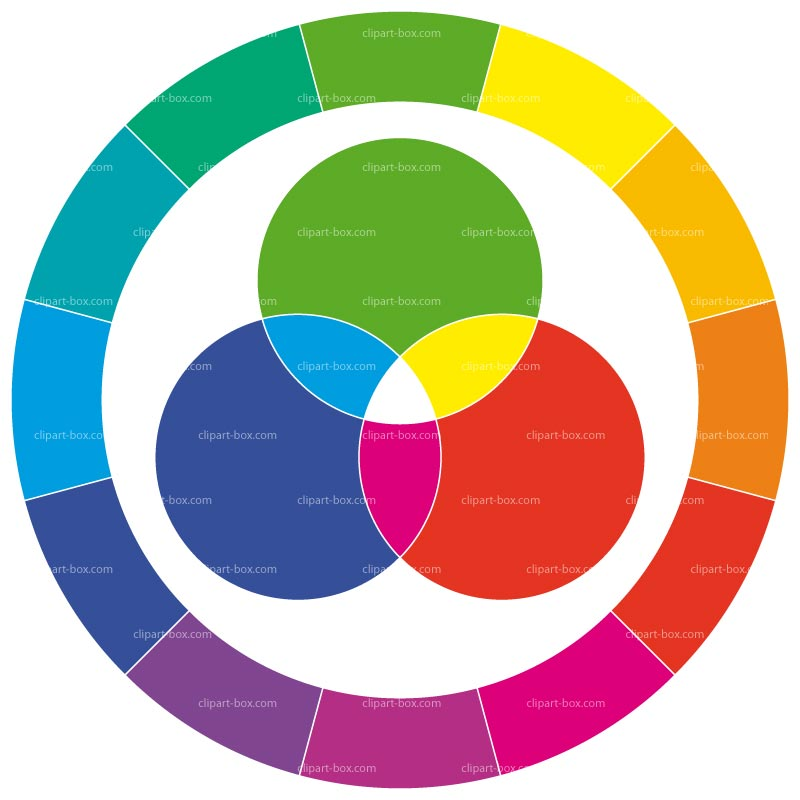 800x800 Color Wheel Clipart