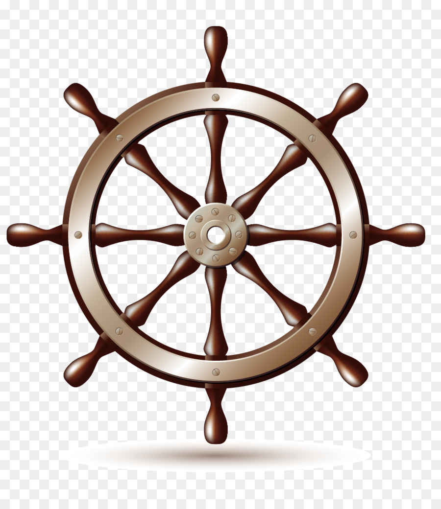 900x1040 Ship's Wheel Boat Clip Art