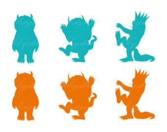 340x270 Clip Art For Where The Wild Things Are. Classroom Makeover