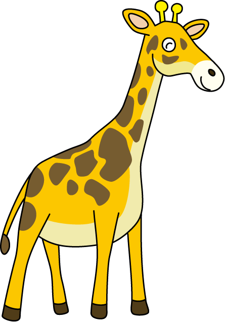 445x636 Giraffe Clip Art Clipart Panda