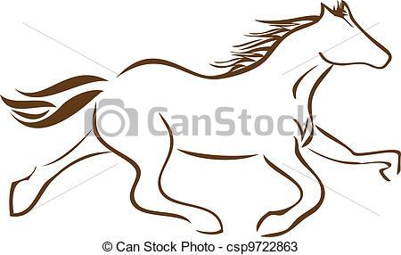 450x286 Racing Horse Logo Vector Stock Vectors