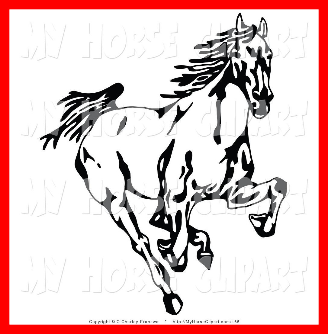 1086x1106 Unbelievable Clip Art Of A Black And White Wild Mustang Horse