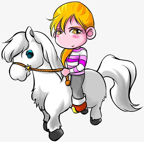 500x492 White Horse Princess, Fairy Tale, Whitehorse Png Image And Clipart