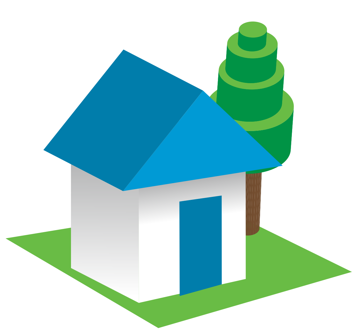 1200x1140 Collection Of House Clipart 3d Png High Quality, Free