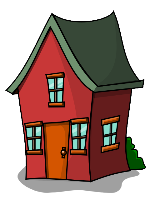480x640 House Clip Art Free Black And White Free Clipart